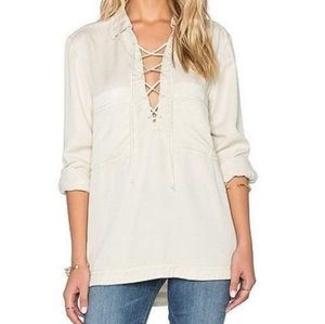 Free People | Under Your Spell Blouse in Cream